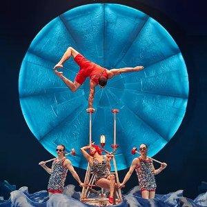 $47起 纽约也能看太阳马戏团了太阳马戏团Luzia  墨西哥文化宝库 舞台光影大作