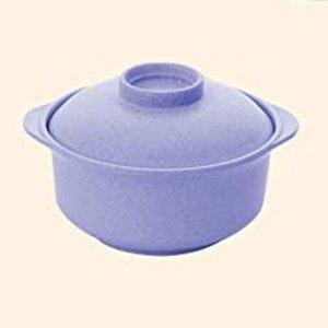 配锅盖 14x7.5x6.5cmBomcomi 日式砂锅 - 香芋紫