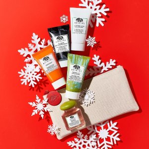 Last Day: Dealmoon Exclusive Enjoy 25% offany gift sets order +plus spend $65 and choose a 5-piece skincare gift + cosmetic bag. PLUS, spend $45 and get a super deluxe Clear Improvement charcoal mask  @ Origins