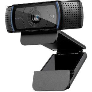 $79.99 (原价$99.99)史低价:Logitech HD Pro C920x 网络高清摄像头