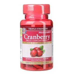 Holland & Barrett单品价格为折扣叠加后最低价格加强版蔓越莓-100粒