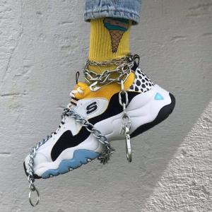 直邮中国+税费补贴Skechers 新款不败时尚老爹鞋 最高享7折