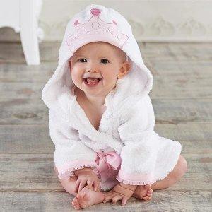 Baby Aspen定制公主浴袍