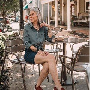 低至4折+免邮 衬衫$13Lands End 全场秋季美衣热卖 T恤$7 格纹阔腿裤$9