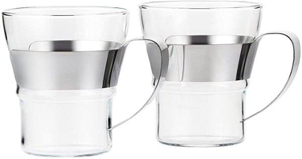 玻璃杯一对