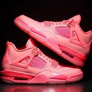 """售价£165 英国1月12号零点发售上新:妹子独占Air Jordan 4 """"Hot Punch""""即将发售 粉嫩炸裂"""