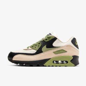 最具影响力的跨文化偶像之一新品上市:Nike Air Max 90 Lahar Escape 军绿淡粉配色 男女同款