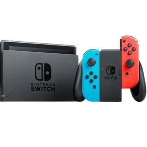 $379(原价$469) + 回国可退税Nintendo Switch 任天堂经典游戏机