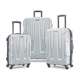 Samsonite Centric Expandable Hardside Luggage Set with Spinner Wheels, 20/24/28 Inch