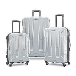 $259史低价:Samsonite 新秀丽Centric可扩展硬壳行李箱3件套