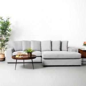 灰色可互换沙发