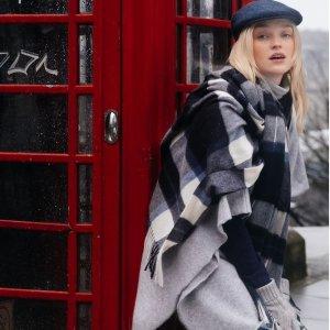 £9.99收100%羊毛围巾Kiltane 苏格兰围巾 羊绒质感 英伦风伴手礼佳品