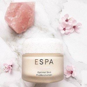 满额送大礼包三选一ESPA高端贵族品牌五月银行节 顶级水疗护肤体验