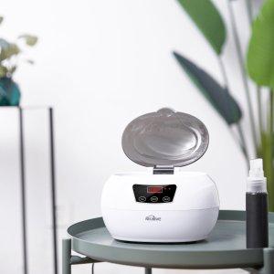 现价 £26.99(原价£39.99)Kealive 600ML 超声波首饰眼镜清洗机