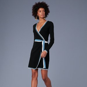 Diane von FurstenbergSweater Wrap Dress