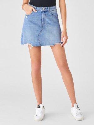 Georgia High Rise Skirt | Cheyenne – DL1961
