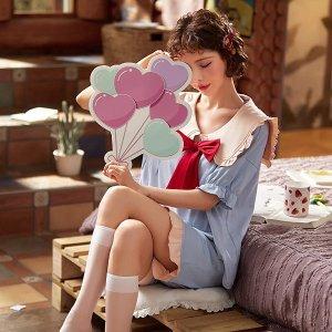 直邮含税到手价$47小仙女休闲家居服 100%纯棉舒适面料 多款可爱造型