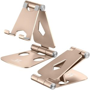 Adjustable Cell Phone Stand - ToBeoneer Phone Holder for Desk