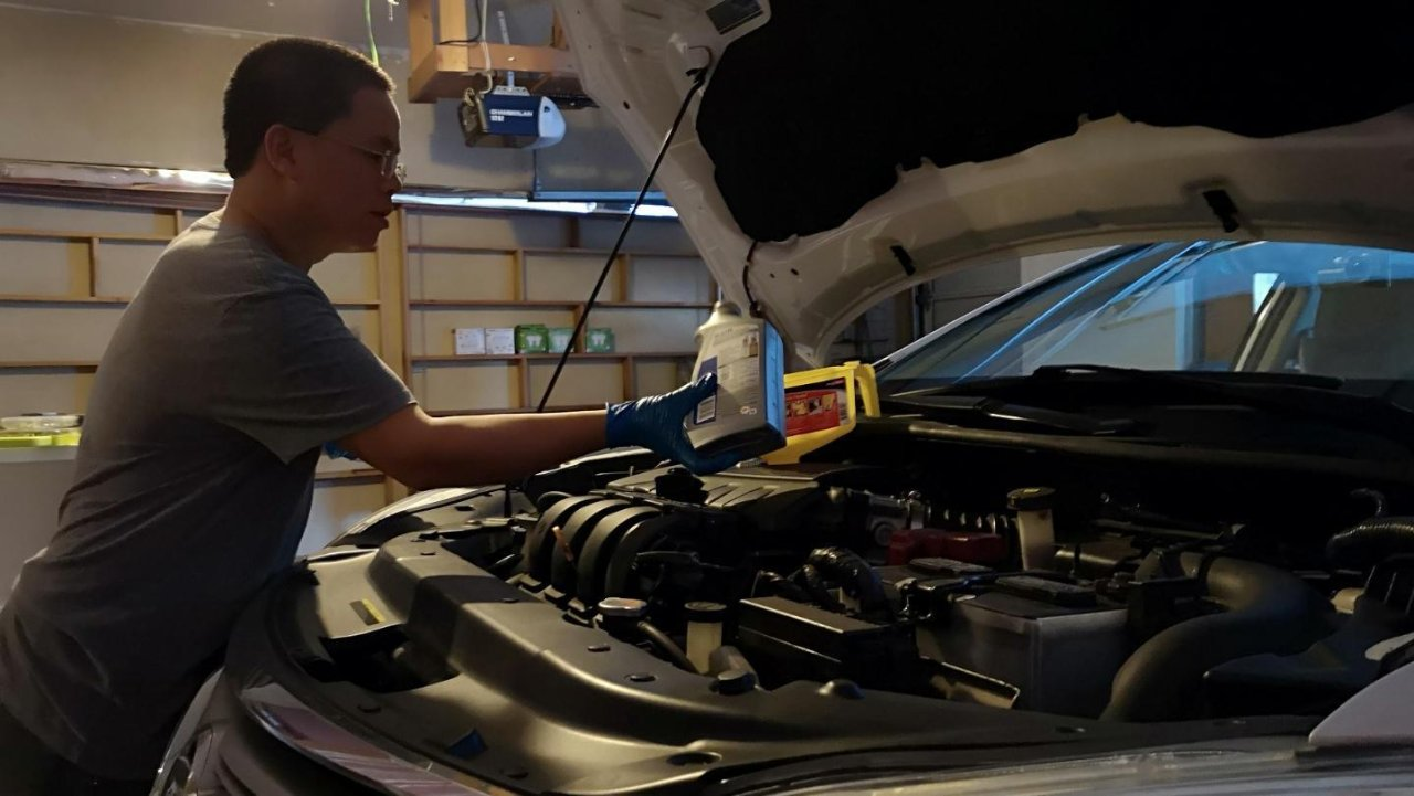 DIY自己更换机油
