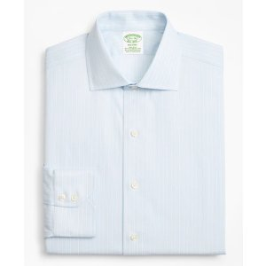 Brooks Brothers4 For $199Stretch Milano Slim-Fit Dress Shirt, Non-Iron Oxford Stripe   Brooks Brothers
