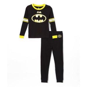 c767d695c671 IntimoBatman Black Long-Sleeve Pajama Set. $9.99 $32.00. Intimo Batman ...