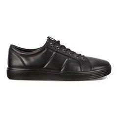 皮面运动鞋