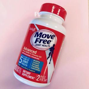 大瓶装$22.94 (原价$26.99)Move Free维生素D3 氨基葡萄糖维骨力 蓝盒 120粒