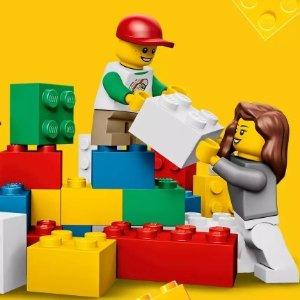 促销价满$50返$10礼卡乐高LEGO 套装热卖,立体书好价