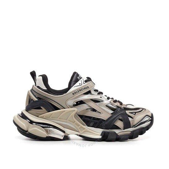 Ladies Neoprene咖啡色老爹鞋