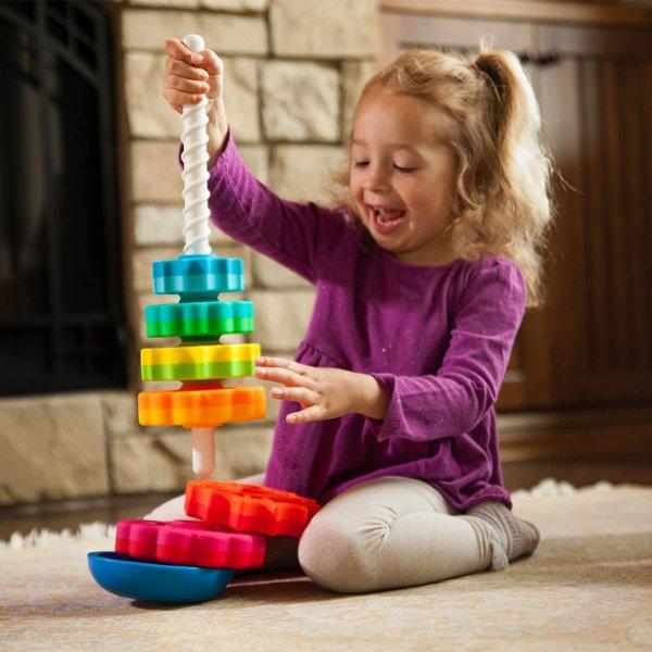 旋转陀螺玩具
