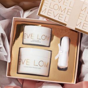新人叠加满减£15+1件免邮中澳史低价:Eve Lom官网 假日套装低至6折 收双正装