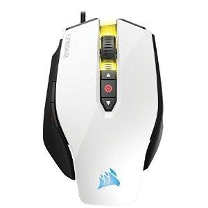 $29.99 (原价$59.99)史低价:CORSAIR M65 Pro RGB 游戏鼠标 白色版罕见优惠