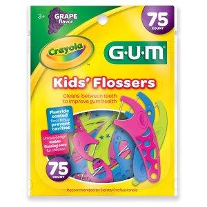 $2.43Crayola 蜡笔主题葡萄口味儿童牙线