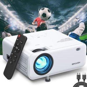 立减€504K / 1080P便携式高清投影仪(白色)