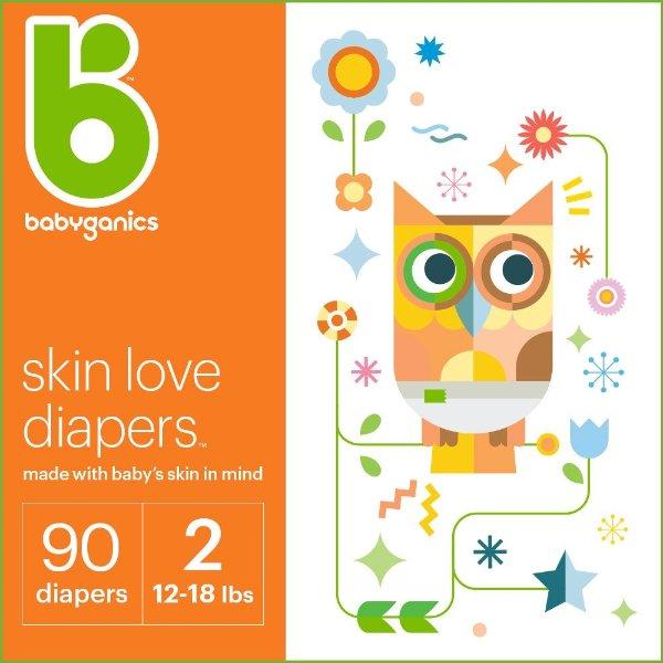 婴儿纸尿裤 Size 2, 90 Diapers