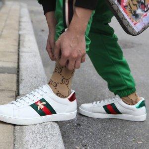 """满额88折,小白鞋£392入手慢无:Gucci 精选男女美鞋 老爹鞋2.0""""丑萌"""