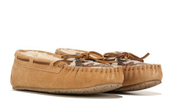 毛毛乐福鞋