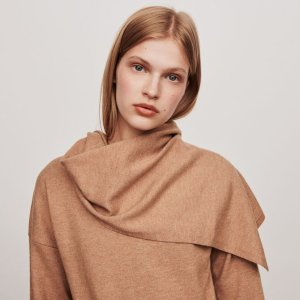 119MADJI Knotted crewneck sweater - Sweaters - Maje.com