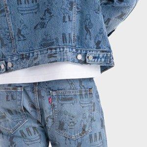 7.5折起 501短裤$67Levi's 卫衣、T恤、牛仔裤经典回归 卡车夹克$112