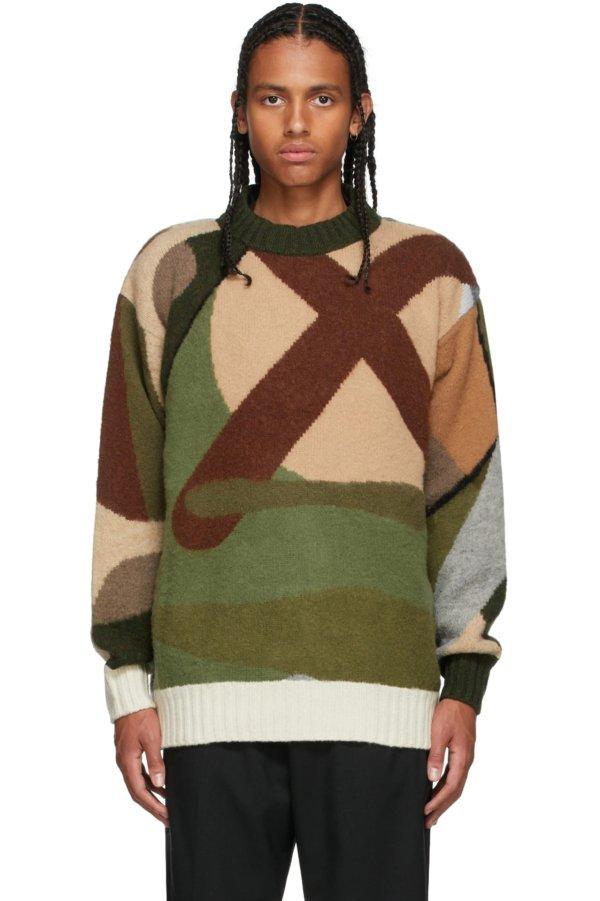 sacai KAWS Edition 毛衣
