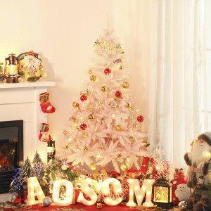 低至3折 $44收圣诞树黑五独家:Aosom年终热促 $33收泡澡神器 $52收充气姜母小人