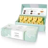 Tea Forte 5种口味莲花茶混合礼盒 10包