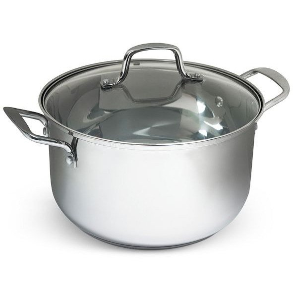 8夸脱不锈钢汤锅
