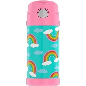 6aa64af639bd ThermosCrckt 12oz Funtainer Water Bottle - Rainbow