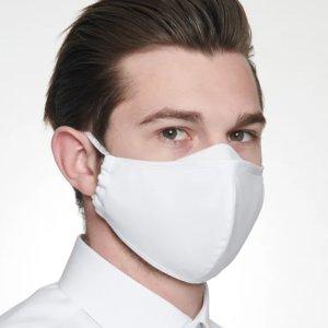 一个只要€1 三层设计防飞沫Seidensticker 纯棉口罩10个装 可循环利用 水洗不变形