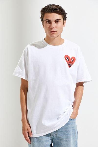 Keith Haring爱心T恤