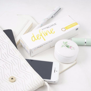 1 Day Acuvue Define Radiant Bright with LACREON | lenspure
