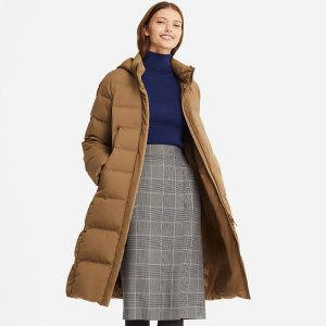 5469967af85 Uniqlo WOMEN ULTRA LIGHT DOWN VOLUME JACKET · UniqloWOMEN SEAMLESS DOWN  LONG COAT