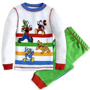 $11.98 +满百额外8折迪斯尼官网 多款儿童家居服套装促销