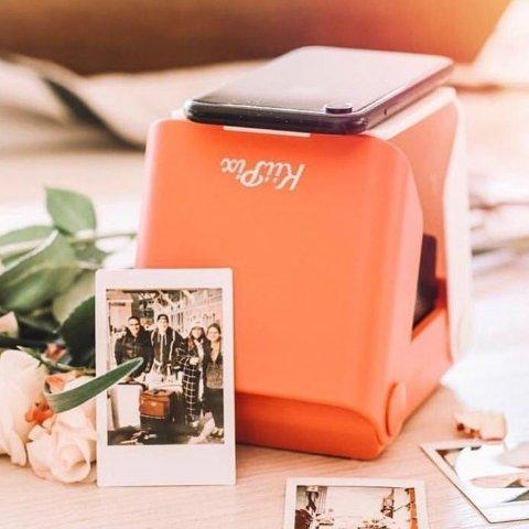 低至6.8折  记录生活便携好用Kiipix 光学照片冲印机 无需用电用墨 手机秒变拍立得